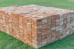 GROUP OF CONSTRUCTION BRICKS ARRANGED IN BLOCKS. ABSTRACT OF GROUP OF CONSTRUCTION BRICKS ARRANGED IN BLOCKS Stock Image