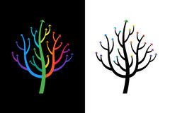 Abstract Growing Arrow Tree That Symbolizes Development And Growth. Conceptual Vector Illustration.  Royalty Free Illustration