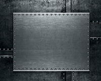 Abstract grudge steel background. Or texture Stock Image