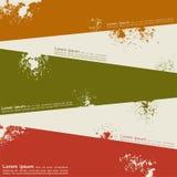 Abstract grunge achtergrondmalplaatjeontwerp Vector Stock Illustratie