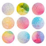 Abstract grunge aquarelle background, paper Stock Photography