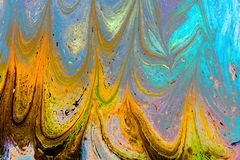 Abstract grunge art background texture with colorful paint splashes royalty free stock image