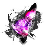 Abstract grunge artwork background Royalty Free Stock Photo