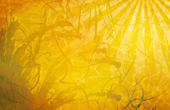 Abstract grunge background. Abstract grunge yellow textured background Stock Images