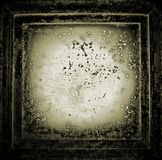 Abstract grunge background. Abstract grunge framed excellent background for your design stock illustration