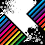Abstract grunge background. Clip-art Stock Image