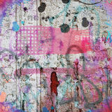 Abstract grunge background. Pink and gray abstract grunge background Stock Photos