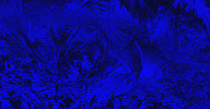 Abstract grunge background. A vivid blue and black grunge design background Royalty Free Stock Photos