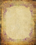 Abstract grunge background. With floral, stains, cracks, filigree vector illustration