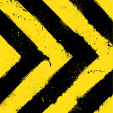 Abstract grunge background. Abstract black and yellow background with ink blots stock illustration