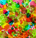 Abstract grunge background, colorful blurs Stock Photo