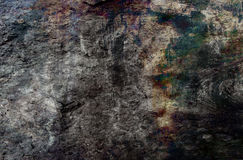 Abstract grunge background in gray, brown and green tones. Royalty Free Stock Photo