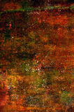 Abstract grunge background in red, orange and brown tones Royalty Free Stock Image