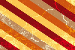 Abstract grunge background. Retro stripes with grunge - background illustration royalty free illustration