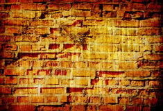 Abstract grunge background texture of brick wall Stock Photography