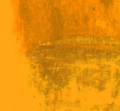 Abstract grunge background in yellow and orange Royalty Free Stock Images