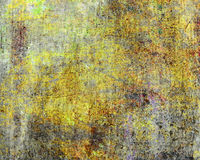 Abstract grunge background in yellow tones Royalty Free Stock Image
