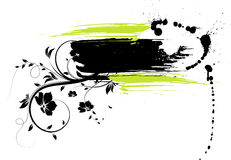 Abstract  grunge banner Royalty Free Stock Images