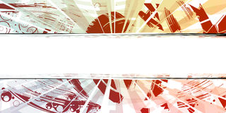 Abstract grunge banner Stock Images
