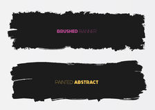 Abstract grunge banners Stock Image