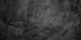 Abstract Grunge Black Wall Background stock photo