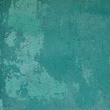Abstract grunge blue green wall backdrop Royalty Free Stock Photo
