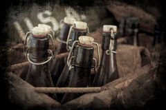Abstract grunge bottles. Royalty Free Stock Photo