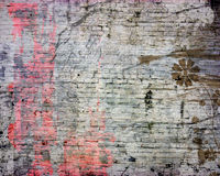 Abstract grunge brick background Royalty Free Stock Images