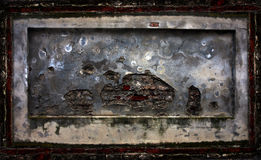 Abstract grunge brick cement wall Stock Photo