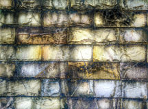 Abstract grunge brick pattern. Photo taken on 2014 Royalty Free Stock Photo
