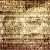 Abstract grunge brick wall. Background vector illustration