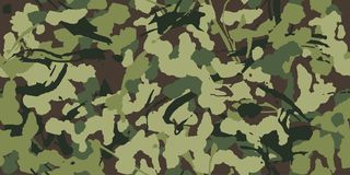 Free Abstract Grunge Camouflage, Seamless Pattern Texture Military Pattern, Army Or Hunting Green Clothes. Stock Images - 133345344