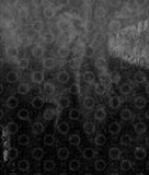Abstract Grunge Circles Pattern Background Stock Image