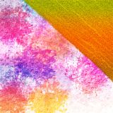 Abstract grunge color spots on rough surface. Grungy surface background with thick color spots. Glitter patch for tinted look. royalty free stock photo