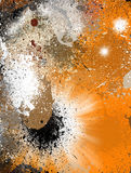 Abstract Grunge Colorful Background stock illustration