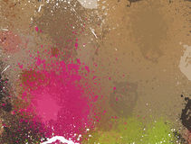 Abstract Grunge Colorful Background Stock Photos