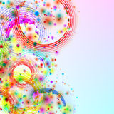 Abstract grunge colorful background. Stock Photo