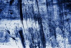 Abstract Grunge Decorative Navy Blue Dark paint brush strokes background royalty free stock image