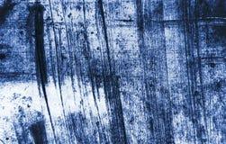 Abstract Grunge Decorative Navy Blue Dark paint brush strokes background stock photo
