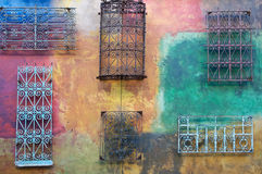 Abstract, grunge, faded painted wall Royalty Free Stock Image