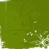 Abstract grunge floral background Royalty Free Stock Photography