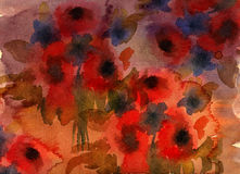 Abstract grunge flower background Royalty Free Stock Photography