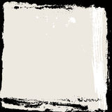 Abstract grunge frame. Black and beige Background template. Vector Royalty Free Stock Image