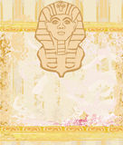 Abstract grunge frame - Great Sphinx of Giza Stock Image