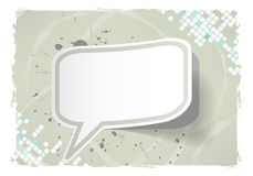 Abstract Grunge Frame With Sticker Royalty Free Stock Photo