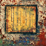 Abstract grunge frame Royalty Free Stock Image