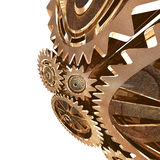 Abstract Grunge Gear Background Royalty Free Stock Image
