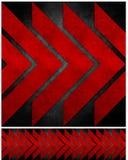 Abstract grunge gerecycleerd document ambachtmozaïek backgr Stock Afbeeldingen