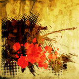 Abstract grunge graphic background Stock Image