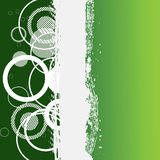 Abstract grunge green banner Royalty Free Stock Photo